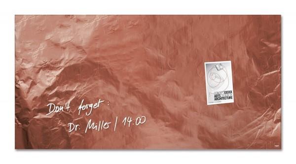 Sigel Glas-Magnetboard artverum Pure-Copper, 91 x 46 cm, GL269