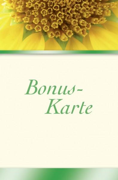 """Bonuskarten BK111 """"Sunflower"""""""
