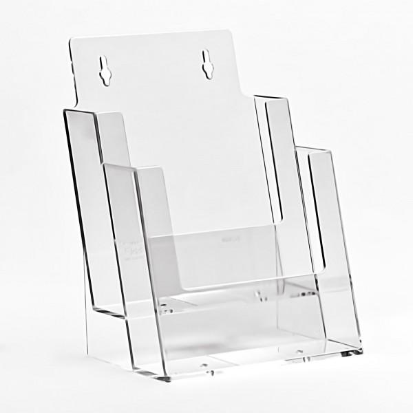 Taymar® Tisch-Prospekthalter 2xDIN A5, 2C160