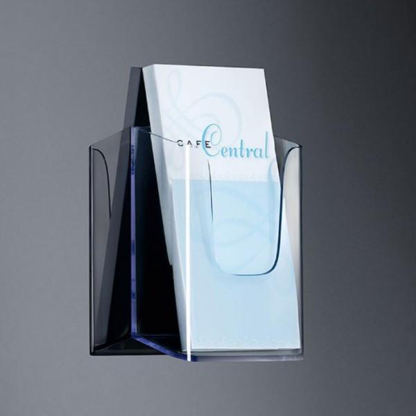Sigel® Wand-Prospekthalter acrylic mit1Fach DINlang, LH117