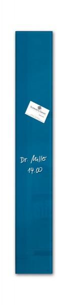 Sigel Glas-Magnetboard artverum petrolblau, 12 x 78 cm, GL250