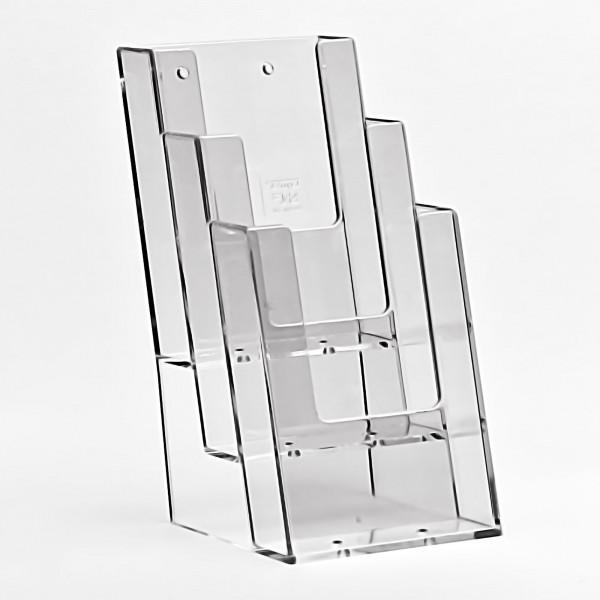 Taymar® Tisch-Prospekthalter 3xDIN lang, 3C104