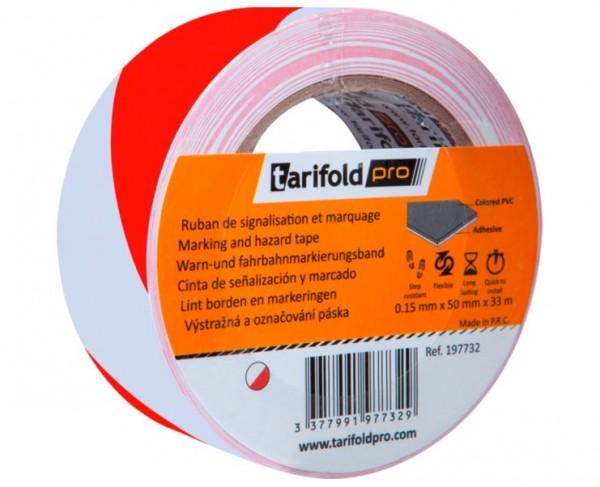 Sicherheits-Fußbodenklebeband »tarifoldpro«, rot/weiß