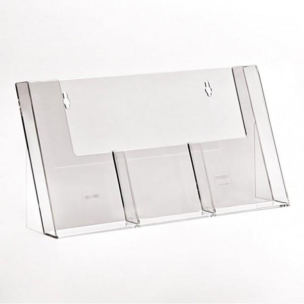 Taymar® Tisch-Prospekthalter 3xDIN lang, 3C110H