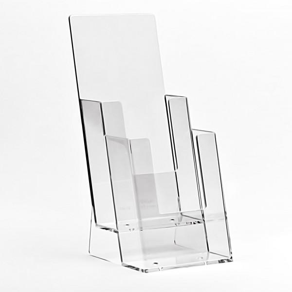Taymar® Tisch-Prospekthalter 2-fach DIN lang, 2C110