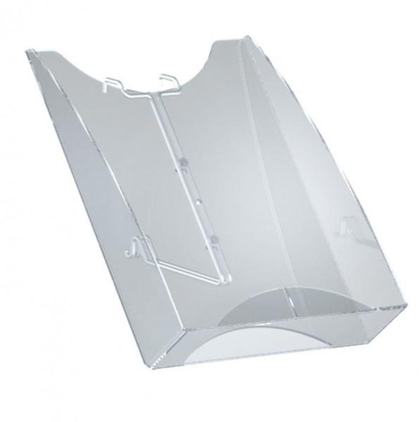 """Acryl-Ablagefach DIN A4 für Prospektständer """"Skyline"""", Acrylglas"""