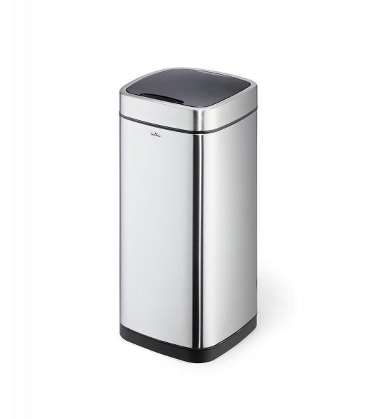 Sensor-Abfalleimer »NO TOUCH«, 35 Liter, Edelstahl silber