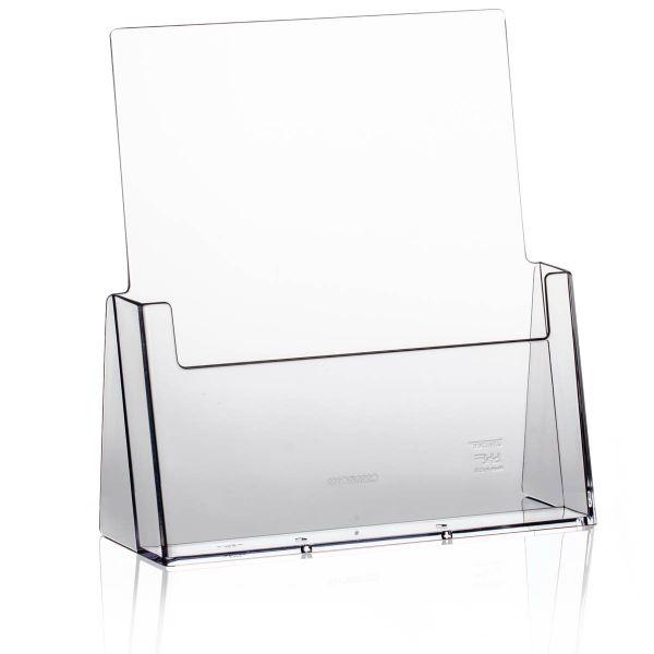 Taymar Tisch-Prospekthalter C230, 1 Fach DIN A4 Hochformat