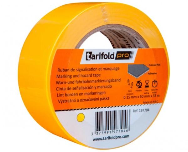 Kennzeichnungs- und Bodenmarkierungsband Standard »tarifoldpro«, gelb
