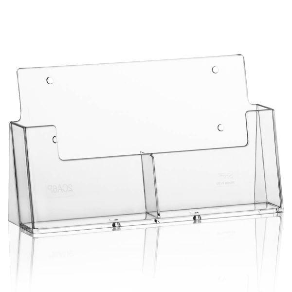 Taymar Tisch-Prospekthalter 2CA6, 2 Fächer DIN A6