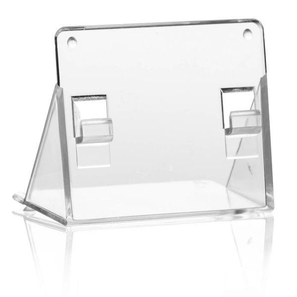 Taymar Standfuß AB1 zur Verwendung als Tisch-Prospekthalter