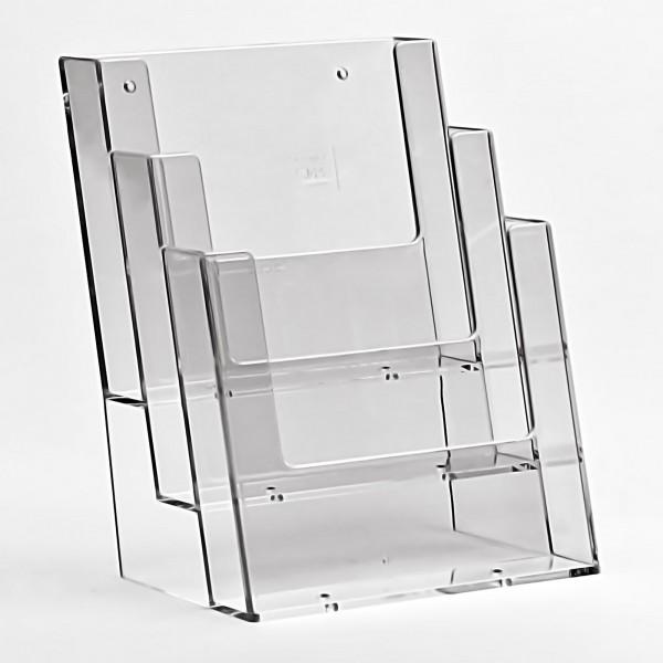Taymar® Tisch-Prospekthalter 3xDIN A5, 3C160
