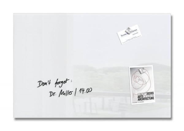 Sigel Glas-Magnetboard artverum super-weiß, 60 x 40 cm, GL121
