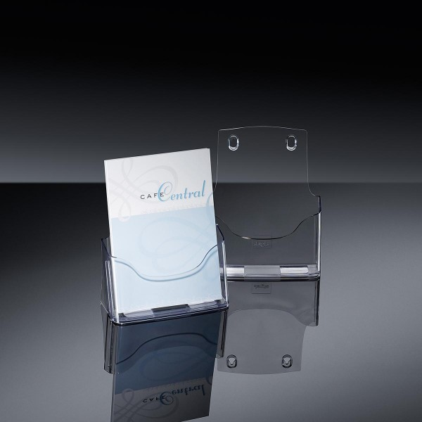 Sigel® Tisch-Prospekthalter acrylic mit1Fach DINA5, LH112