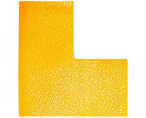 DURABLE Bodenmarkierung »L«, gelb