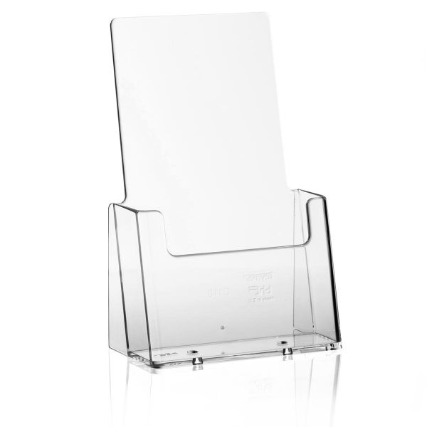 Taymar Tisch-Prospekthalter C110, 1 Fach DIN lang Hochformat