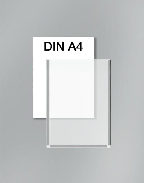 Plakattasche DIN A4 aus glasklarem Kunststoff