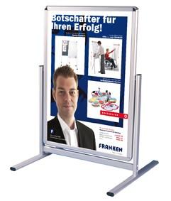 Kundenstopper/Plakatständer wasserdicht und wetterfest, DIN B2, BS1303
