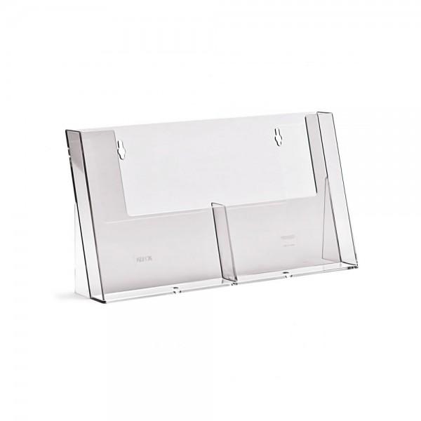 Taymar® Tisch-Prospekthalter 2xDIN A5, 2C155H