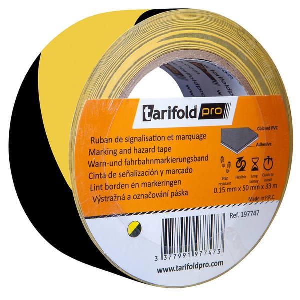 Sicherheits-Fußbodenklebeband »tarifoldpro«, gelb/schwarz