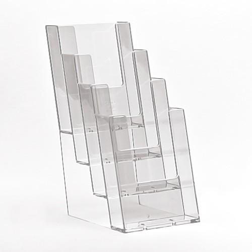 Taymar® Tisch-Prospekthalter 4xDIN lang, 4C110