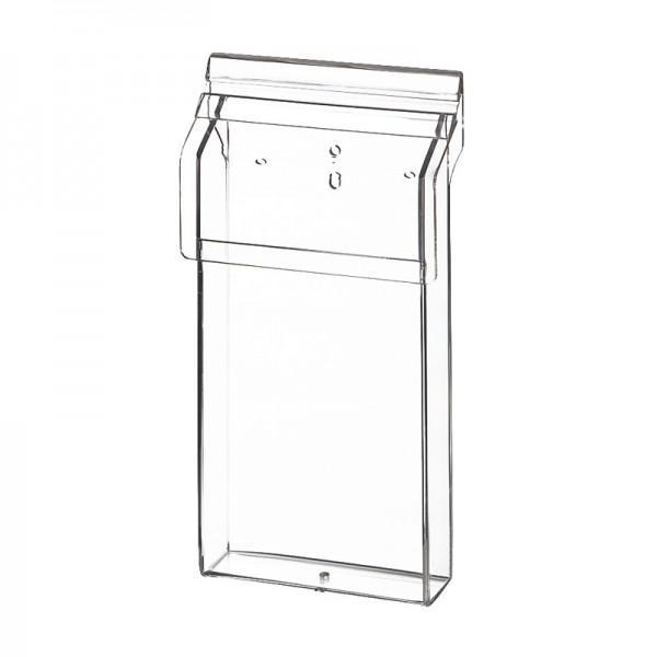 Outdoor-Prospektbox Acrylglas DINlang, Fülltiefe30mm