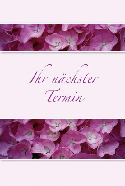"""Terminkarten TKL110 """"Blüten"""""""