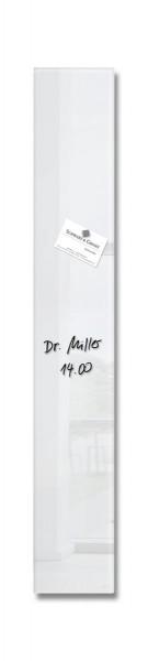 Sigel Glas-Magnetboard artverum super-weiß, 12 x 78 cm, GL101