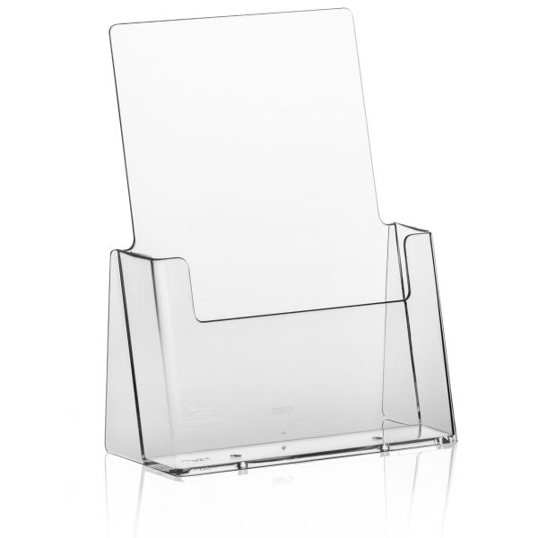 Taymar Tisch-Prospekthalter C160, 1 Fach DIN A5 Hochformat