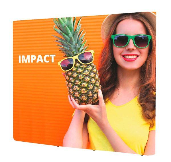 "Displaywand ""Impact Pop-Up gerade"" mit PVC-Paneelen"