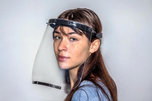 Gesichtsvisier »Face Shield«, Schutzvisier im Halbprofil