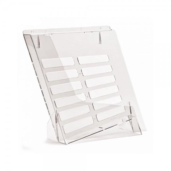 Taymar® Tisch-Prospekthalter DIN A4 schräg, TS230