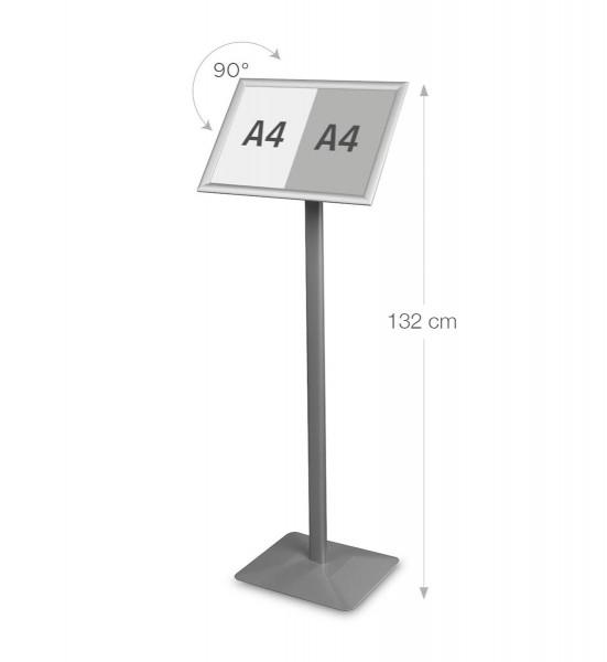 Infostaender-Premium-A3q-Aluminium-silber