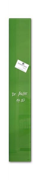 Sigel Glas-Magnetboard artverum grün, 12 x 78 cm, GL251