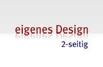 Hochwertige Visitenkarten im Offsetdruck-Verfahren, 2-seitig