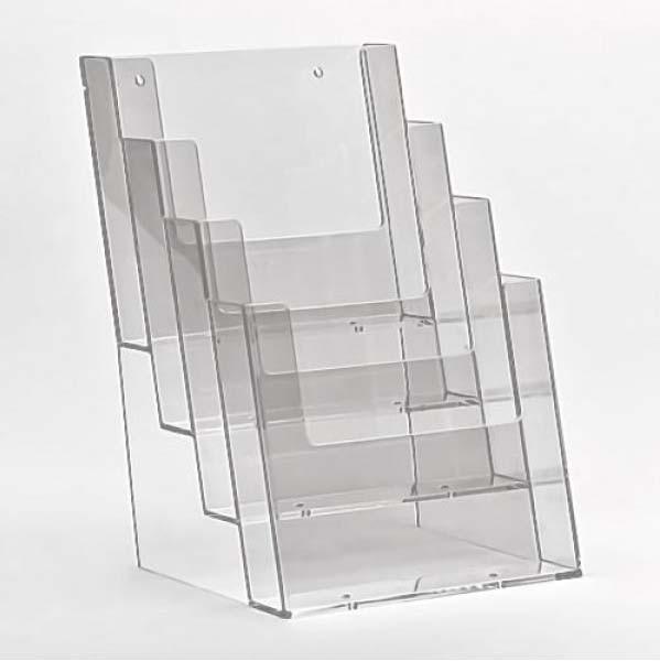 Taymar® Tisch-Prospekthalter 4xDIN A5, 4C160