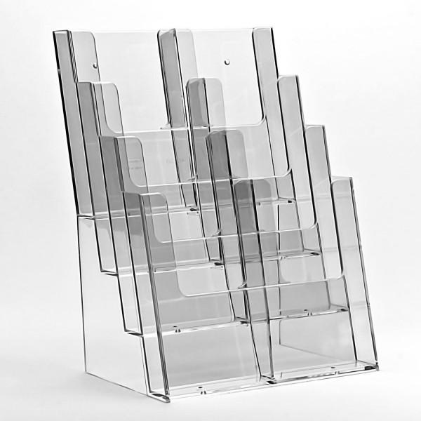 Taymar® Tisch-Prospekthalter 4xDIN A4, 4C230