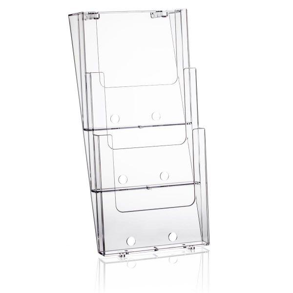 Taymar Wand-Prospekthalter 3W230, 3 Fächer DIN A4