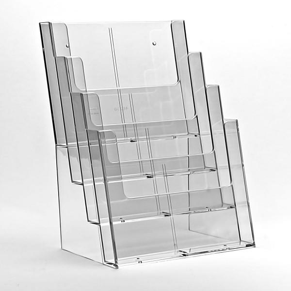 Taymar® Tisch-Prospekthalter 4xDIN A4, 4C230X