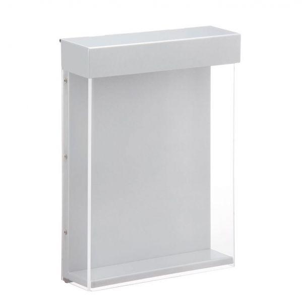 "Outdoor-Prospektbox ""Shield"", extrem robust, Polycarbonat/Stahl, DINA4"