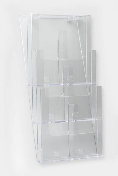 Taymar® Wand-Prospekthalter 6x DIN lang, 3W230-DL