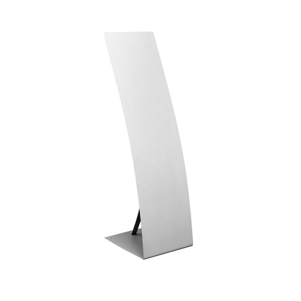 "Informationsdisplay ""Curve"", Metall, alu-silber"