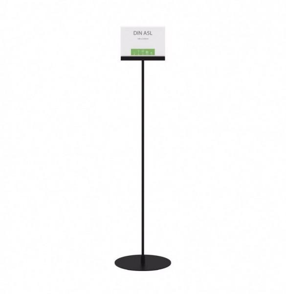 Infoständer »Instand« DIN A5 quer, beidseitig schwarz