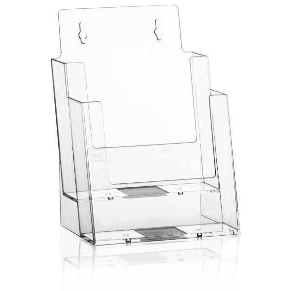 Taymar Tisch-Prospekthalter 2C160, 2 Fächer DIN A5
