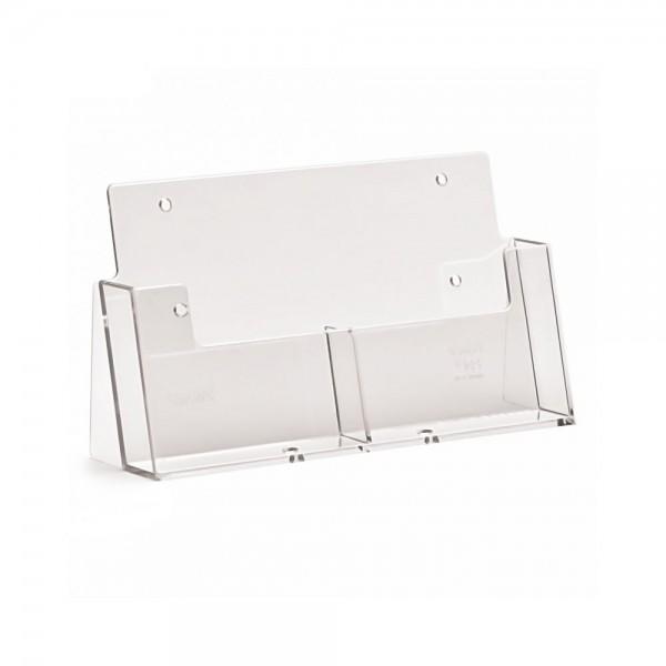 Taymar® Tisch-Prospekthalter 2xDIN A6, 2CA6