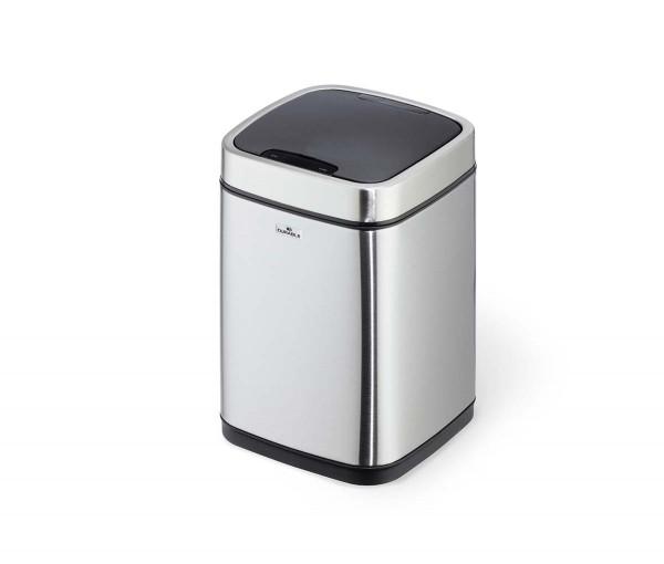 Sensor-Abfalleimer »NO TOUCH«, 6 Liter, Edelstahl silber