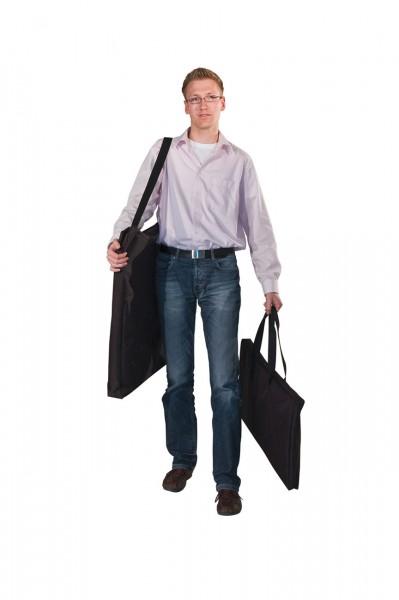 """Transporttasche für Flügeltüren der Messetheke """"Turin"""", mit Trageschlaufen"""
