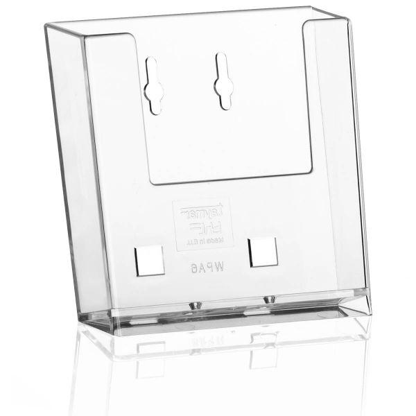 Taymar Wand-Prospekthalter WPA6X, DIN A6 Hochformat