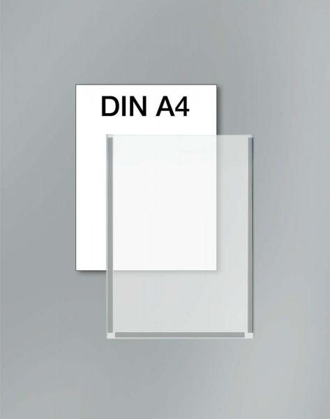 Plakattasche Kunststoff glasklar, DIN A4