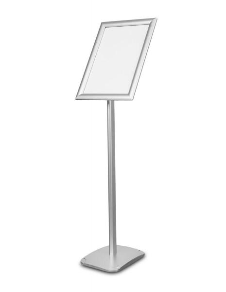 Infoständer »Menü Board Standard«, DIN A3 Hochformat, Aluminium silberfarben